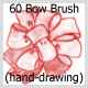 60 Bow Brush (hand-drawing) - GraphicRiver Item for Sale