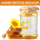 Honey Bottle Mockup - GraphicRiver Item for Sale