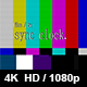 TV Film Sync Clock - VideoHive Item for Sale
