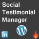 WordPress Social Testimonial System - CodeCanyon Item for Sale