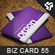 Business Card Design 55 - GraphicRiver Item for Sale