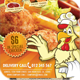 Fried Chicken Flyer Menu - GraphicRiver Item for Sale