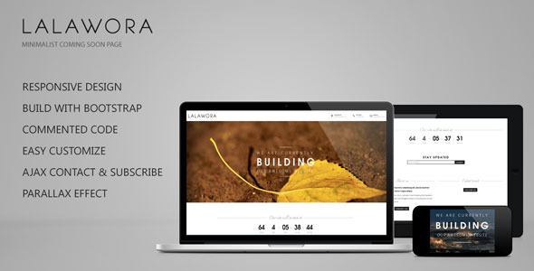 lalawora-responsive-coming-soon-page