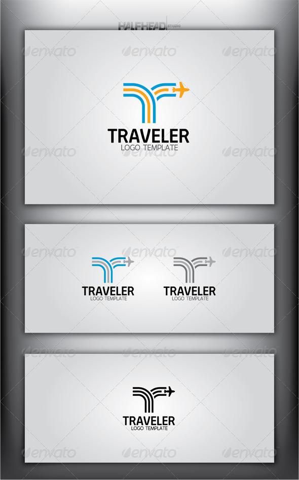 GraphicRiver TRAVELER Logo Template 4363965