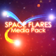 Space Flares Media Pack - VideoHive Item for Sale