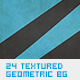 24 Textured Geometric Backgrounds - GraphicRiver Item for Sale
