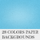 28 Colors Paper Backgrounds - GraphicRiver Item for Sale