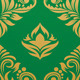 Gold and Green Pattern - GraphicRiver Item for Sale