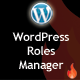 Advanced Roles Manager for WordPress - CodeCanyon Item for Sale