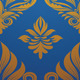 Gold and Blue Decorative Pattern - GraphicRiver Item for Sale