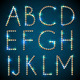 Shiny Diamond Alphabet Letters  - GraphicRiver Item for Sale