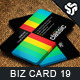 Business Card Design 19 - GraphicRiver Item for Sale