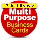 Multipurpose Business Cards Bundle - GraphicRiver Item for Sale