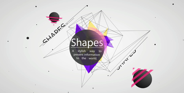 After Effects Project - VideoHive Shapes 428388