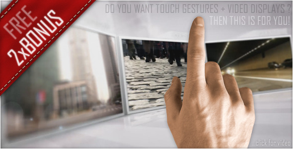 After Effects Project - VideoHive Touch Style 475099