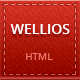 Wellios - vCard Template - ThemeForest Item for Sale