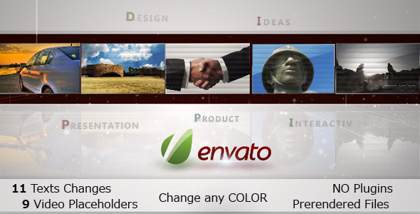 After Effects Project - VideoHive Connection Video Motion HD 475182