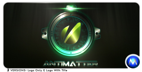 After Effects Project - VideoHive Antimatter 475340