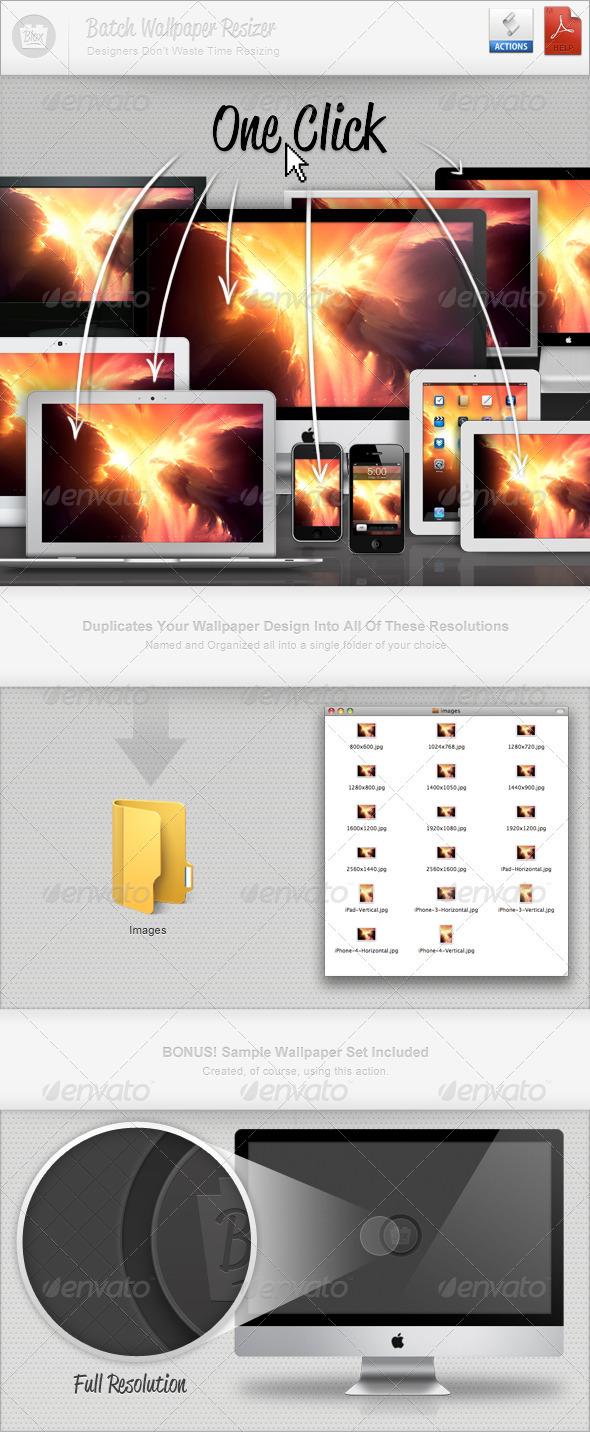 GraphicRiver Batch Wallpaper Resizer 467028