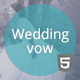 Wedding vow - responsive HTML template - ThemeForest Item for Sale