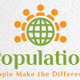 World Population Logo - GraphicRiver Item for Sale