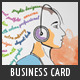 Creative Artistic Business Card - GraphicRiver Item for Sale