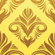 Gold Yellow Ornament Pattern - GraphicRiver Item for Sale