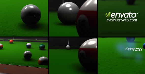 After Effects Project - VideoHive Billiard Logo Reveal 476552