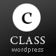 Class - Premium Business, Blogging & Portfolio - ThemeForest Item for Sale