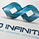 3D Infinity Vector Logo Template - GraphicRiver Item for Sale