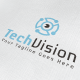 Tech Vision Logo - GraphicRiver Item for Sale