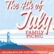 July 4 Event Flyer or Party Invitation - GraphicRiver Item for Sale