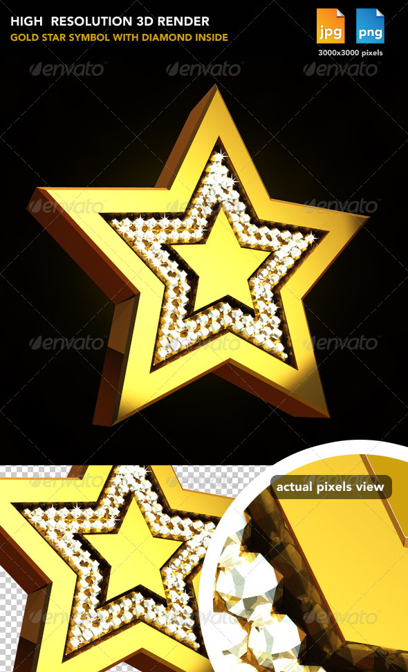 GraphicRiver Gold Star 477634
