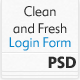 Clean and Fresh Login and Register Form - GraphicRiver Item for Sale