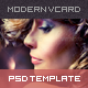 Modern Photographer Vcard PSD Template - ThemeForest Item for Sale