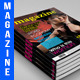 Magazine 50 Pages + 4 Covers Template - GraphicRiver Item for Sale