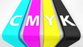 "Signboard with word ""CMYK"" - PhotoDune Item for Sale"