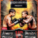MMA / BOX / Fight Night flyer - GraphicRiver Item for Sale