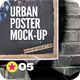Urban Poster Mock-Up v2 - GraphicRiver Item for Sale