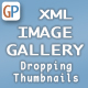 Image Gallery - XML with Dropping Thumbnail Effect, Slide Show & Navigation - ActiveDen Item for Sale