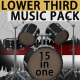 Lower Third Music Pack - VideoHive Item for Sale