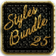 Bundle 25 Luxury Styles - GraphicRiver Item for Sale