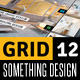Grid 12 Multipurpose Magazine Print Template - GraphicRiver Item for Sale