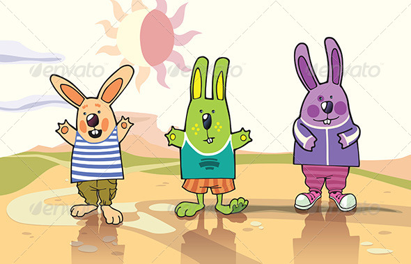 Cartoon Characters Rabbits  U00bb Tinkytyler Org