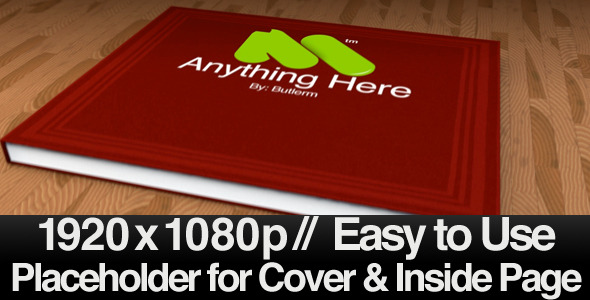 After Effects Project - VideoHive Opening Your Book Revealer & Transition 4 ...