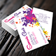 Colorful Life Elegant Business Card - GraphicRiver Item for Sale