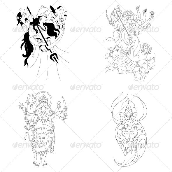 Goddess Lakshmi Photos In Pencil Drawings » Dondrup.com