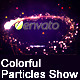 Colorful Particles Show - VideoHive Item for Sale