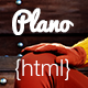 Plano - Flat Design Responsive HTML5 Template - ThemeForest Item for Sale