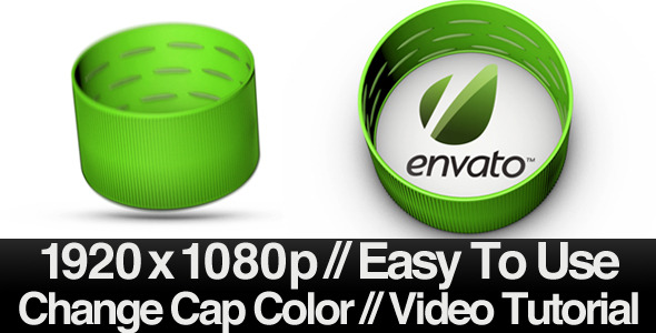 After Effects Project - VideoHive Bottle Cap 482233
